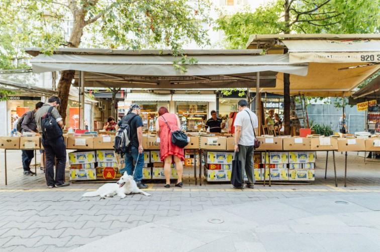Open-Air-Büchermarkt auf dem Slaveykov Platz | 25h in Sofia, Stilnomaden