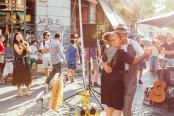 Tango, Palaza Dorrego in San Telmo | Stilnomaden