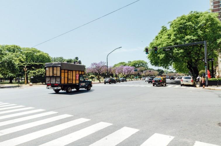 Avenida Libertador | Buenos Aires light – Der perfekte Spaziergang zum Einstieg, Stilnomaden