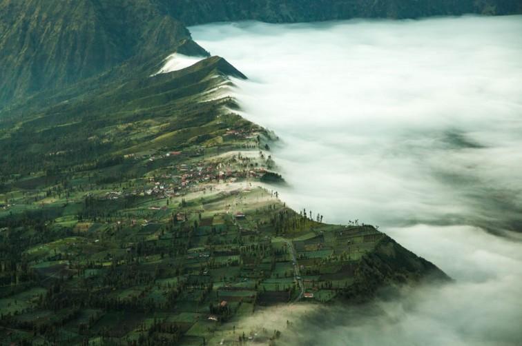 Nebel in Indonesien