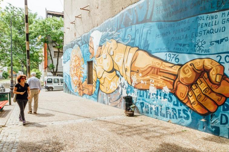 Madres de Plaza de Mayo, La Boca | graffitimundo und Street Art in Buenos Aires, Stilnomaden