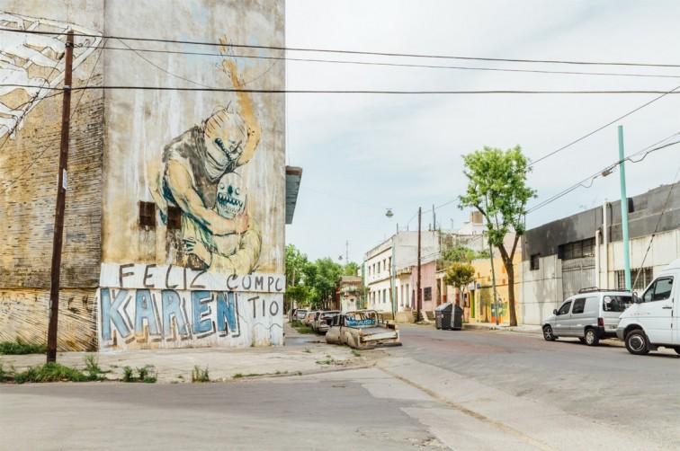 Blu und Jaz, La Boca | graffitimundo und Street Art in Buenos Aires, Stilnomaden