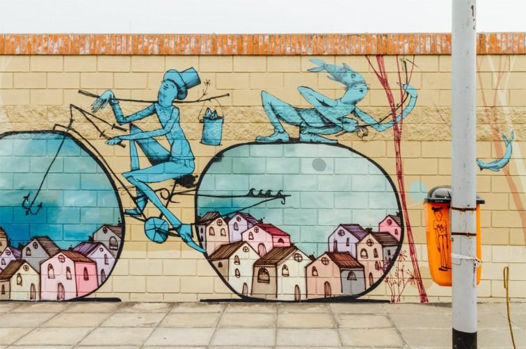 Fahrräder von Mart rund um das CMD in Barracas | graffitimundo und Street Art in Buenos Aires, Stilnomaden