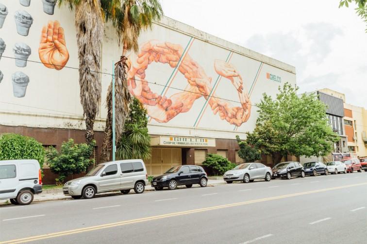 GHELCO Ice Cream, Gaia und Nanook | graffitimundo und Street Art in Buenos Aires, Stilnomaden
