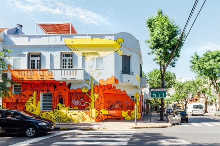 Street Art von Gualicho | graffitimundo und Street Art in Buenos Aires, Stilnomaden
