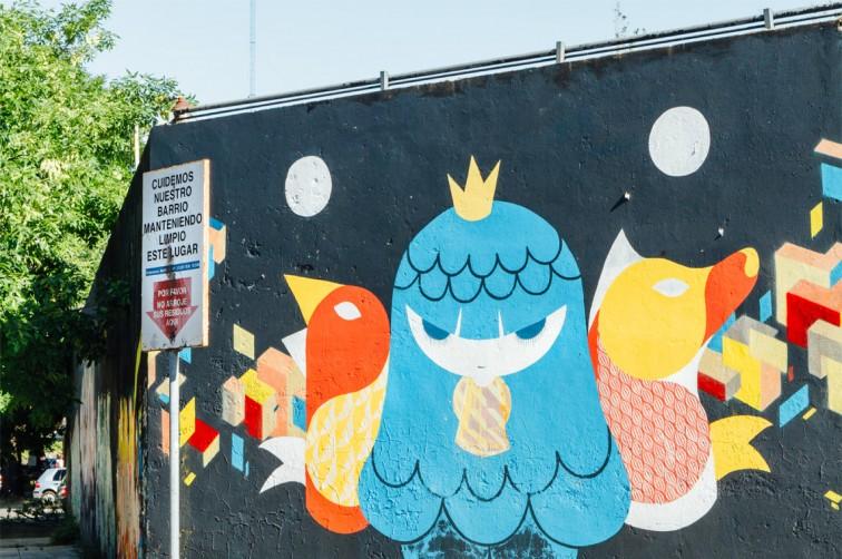 Pum Pum, Lelo und Nerf, Villa Crespo | graffitimundo und Street Art in Buenos Aires, Stilnomaden