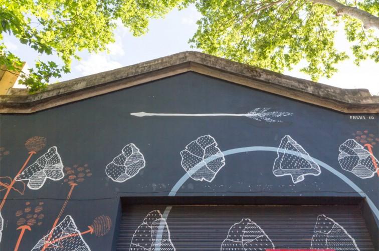 Werkstatt von Jaz und Pastel in Villa Crespo | graffitimundo und Street Art in Buenos Aires, Stilnomaden