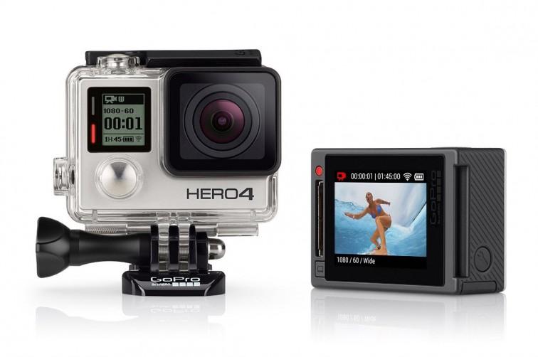 GoPro Actionkamera HERO4 Silver   Weihnachtsgeschenke für Stilnomaden, Stilnomaden