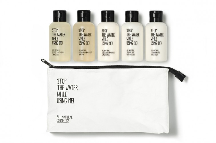 Stop The Water While Using Me Travel Kit | Weihnachtsgeschenke für Stilnomaden, Stilnomaden