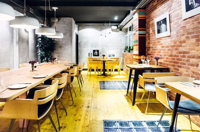 Duplex – Restaurant und Bar | 25h in Bilbao, Stilnomaden