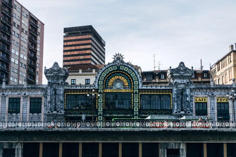 Estación de Bilbao-Concordia | 25h in Bilbao, Stilnomaden