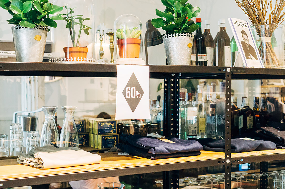 Trimmer, Clothing Store and Café | 25h in Bilbao, Stilnomaden