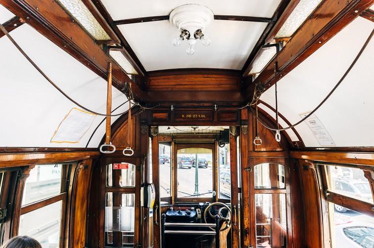 Antike Straßenbahnen in Porto | 25h in Porto, Stilnomaden