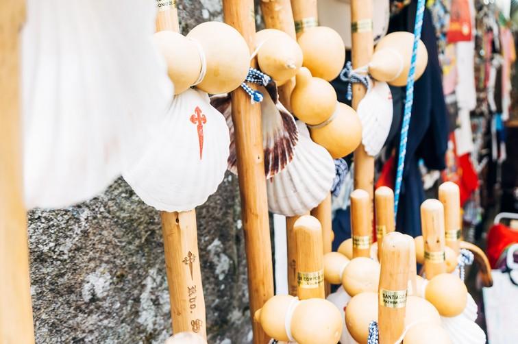 Die allgegenwärtige Jakobsmuschel | 25h in Santiago de Compostela, Stilnomaden