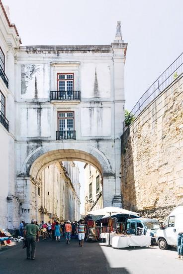 Feira da Ladra, Alfama   25h in Lissabon, Stilnomaden