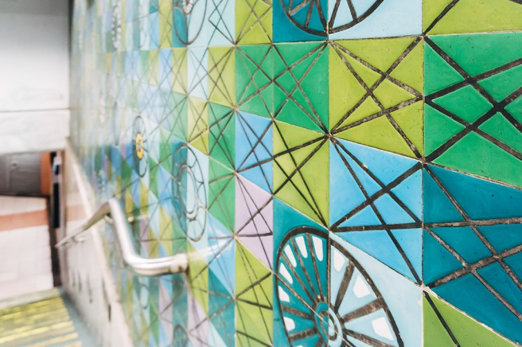 Die von Maria Keil gestalteten Azulejos der Lissabonner Metro-Stationen | 25h in Lissabon, Stilnomaden