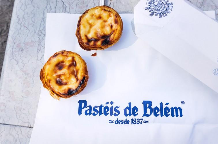 Pastéis de Belém   25h in Lissabon, Stilnomaden