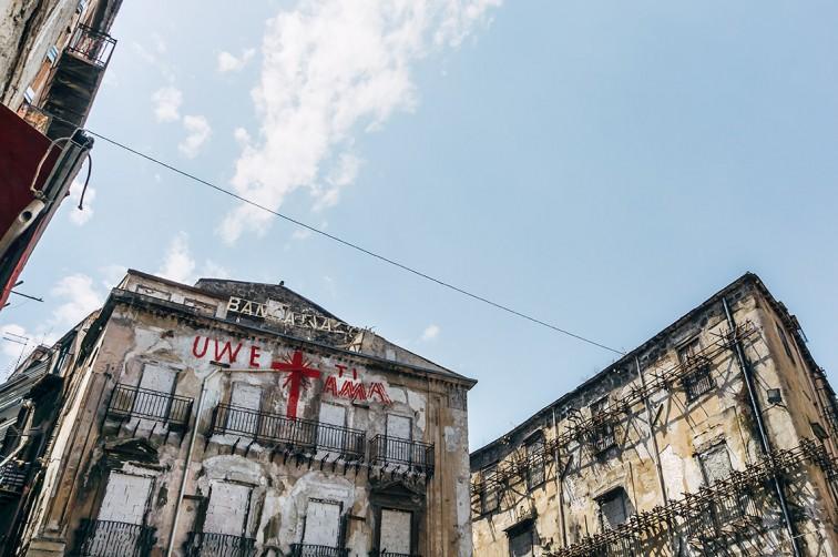 Uwe Jäntsch, Piazza Garraffello | 25h in Palermo, Stilnomaden