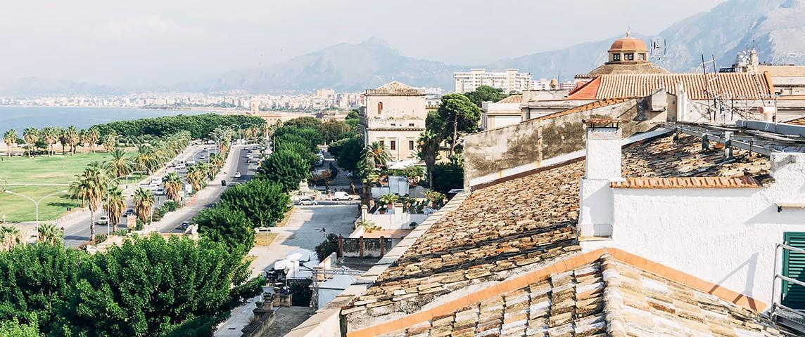 Die Aussicht vom Dach des Butera28 | 25h in Palermo, Stilnomaden