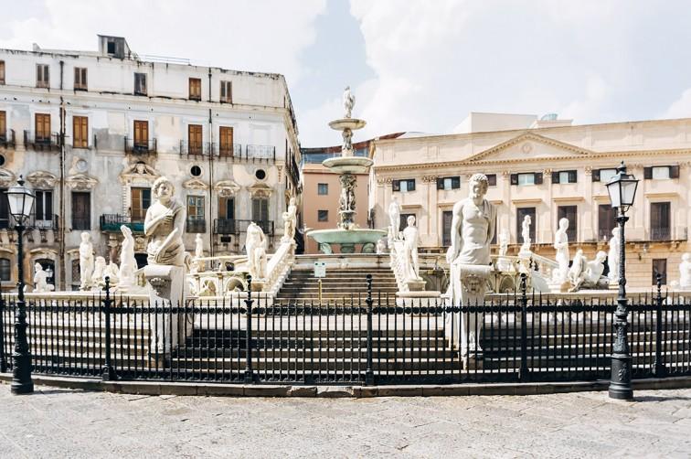 Piazza Pretoria | 25h in Palermo, Stilnomaden